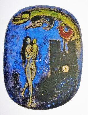 Chagall. Cerámicas. Escultura. Poema.