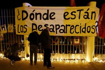 Anónimos. A los desaparecidos en Chile.