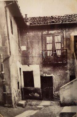 La pensión de Antonio Machado en Segovia.