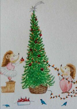 ¿Qué árbol describo hoy? Adivinanza para Navidad.