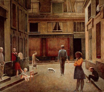 Pintura preferida: Vieira da Silva y Balthus (Lezama Lima).