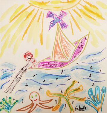 Barquito de papel… Poema infantil.