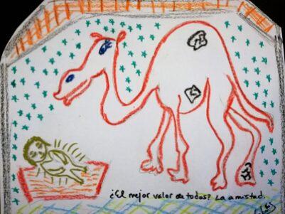 El camello. Los Reyes Magos (Gloria Fuertes).