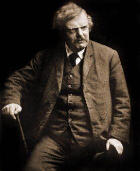 """Chesterton. Poemas. """"El gran mínimo""""."""