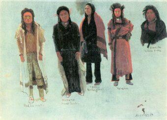 cinco indios