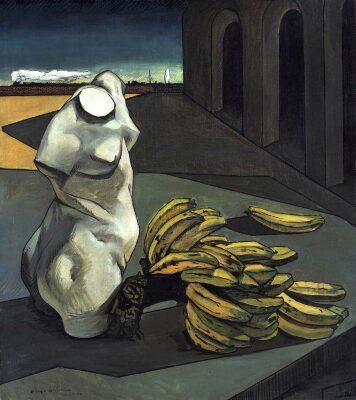 Giorgio De Chirico y sus escenografías pintadas.