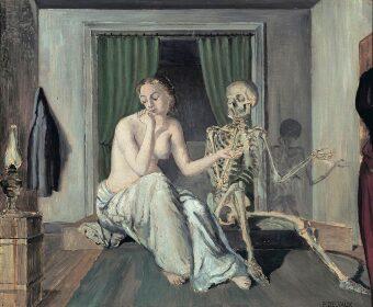 Paul Delvaux y sus mujeres pintadas.