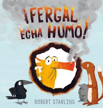 ¡Fergal echa humo!  (Robert Starling).