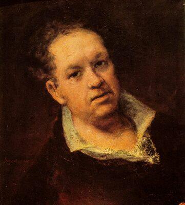Goya. Autorretratos.
