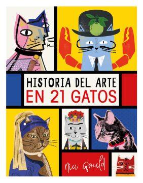 Historia del arte en 21 gatos.