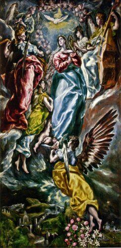 """Rainer María Rilke. """"La Asunción de María"""". Poema inspirado en La Asunción de El Greco."""