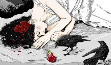 La tentación de la manzana.