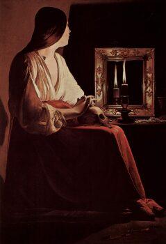"""Georges de La Tour y el """"silencio en la pintura""""."""