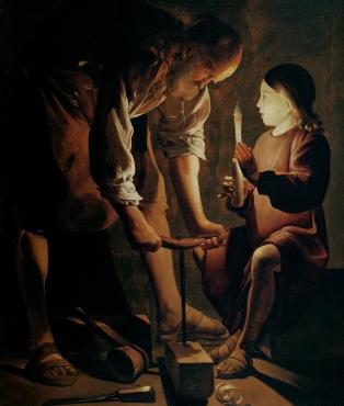 El silencio en la pintura de Georges de La Tour.