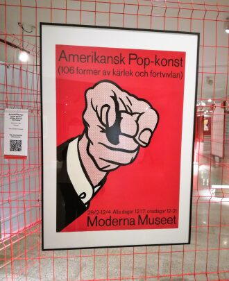 Lichtenstein y el cartel publicitario.