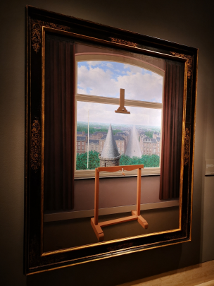 La máquina Magritte. Pintura.