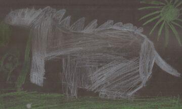El dibujo de mi José.