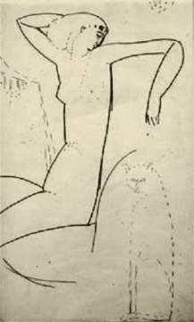 "Anna Ajmátova, Modigliani y ""En la negruzca neblina de París""."