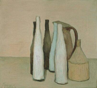 Morandi. Pintura y grabado.