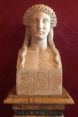 Tiziano y Safo: «Poesías» y poemas.
