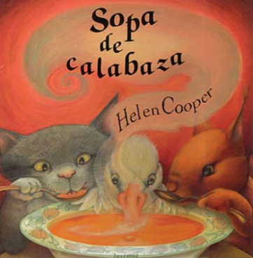 Sopa de calabaza  (Helen Cooper).