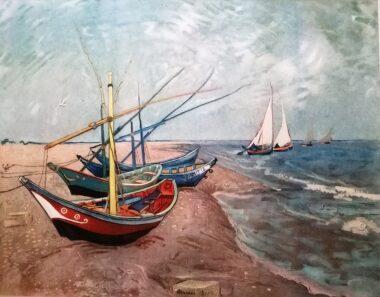 Vicent van Gogh. Flores y paisajes.