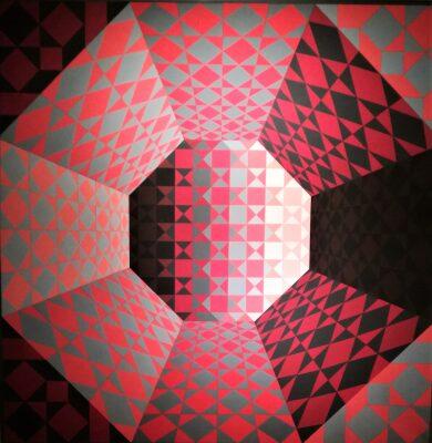 Víctor Vasarely. El nacimiento del Op Art.